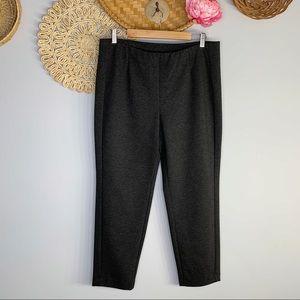 J. Jill   Ponte Slim Leg Pant Knit Pull On Stretch